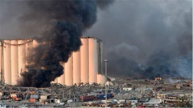 'मध्यपूर्वको पेरिस', विष्फोट र भविष्य