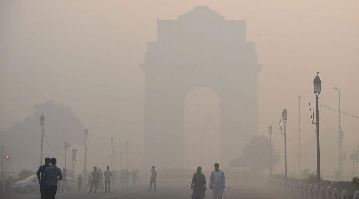 नयाँदिल्लीको वायु झन्-झन् प्रदूषित